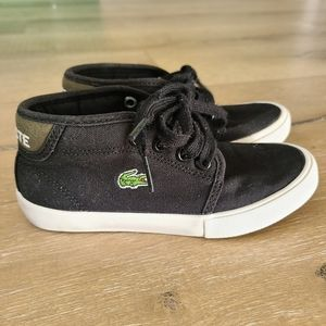 Lacoste Ampthill Toddler Black Sneakers